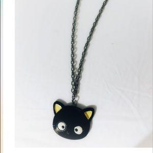SANRIO Black Kitty Necklace